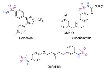 不用磺酰氯也能温和合成磺酰胺
