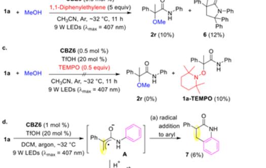 JACS|氧化还原中性的有机光还原剂催化α,β-不饱和酰胺的氧α-亲核加成反应的开发