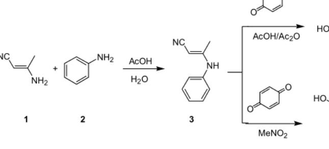 从苯胺的衍生物出发合成吲哚