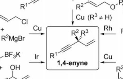 【Angew. Chem. Int. Ed.】有机催化不对称烯化反应实现手性1,4-烯炔的合成