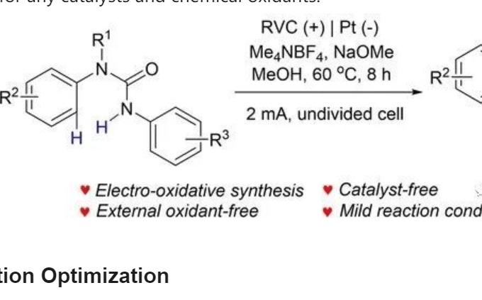 电化学分子内氧化 C-N 偶联制备苯并咪唑酮(Adv. Synth. Catal. 2020)