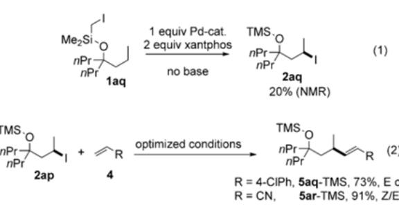 Angewandte:自由基接力Heck反应实现脂肪醇类化合物远端选择性烯基化