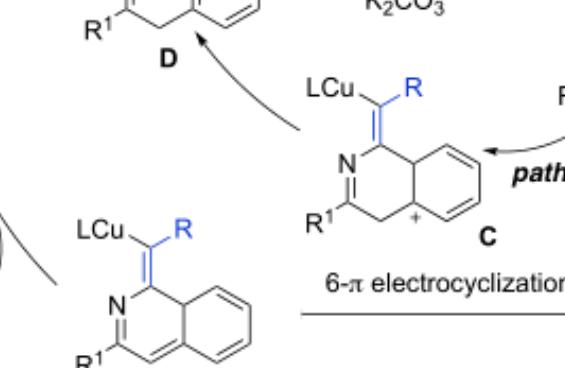 铜催化氮杂-Sonogashira 交叉偶联合成炔亚胺的研究进展及其在杂环合成中的应用