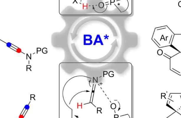 厦门大学叶龙武教授课题组在基于炔烃的手性有机酸催化研究方面取得突破进展